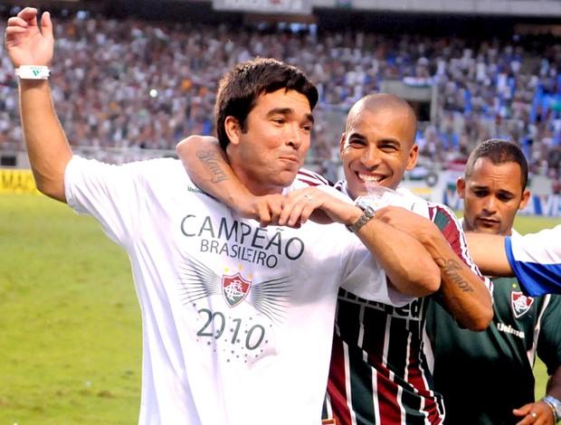deco emerson fluminense comemoração brasileiro 2010