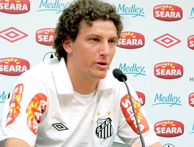apresentação do Elano no Santos