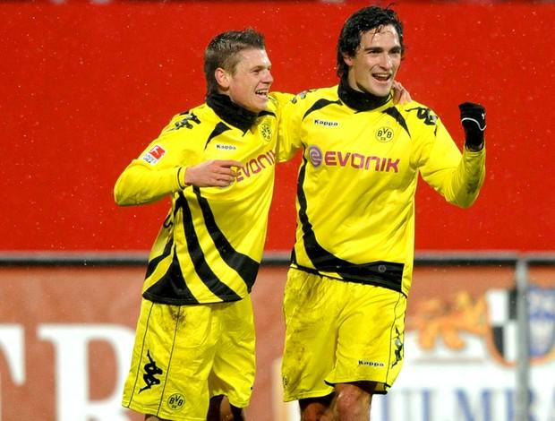 Mats Hummels Lukasz Piszczek borussia dortmund gol Nuremberg