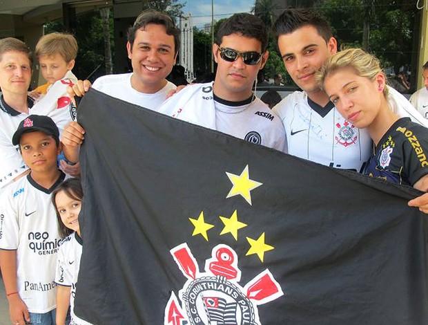 torcida do Corinthians concentrada