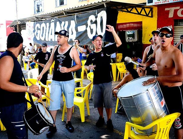 torcida do Corinthians em Goiânia