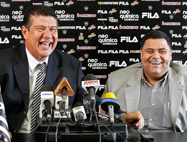 Joel Santana confirma permanência no Botafogo