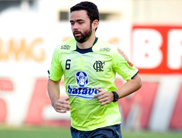 Juan no treino do Flamengo - 23/09/10
