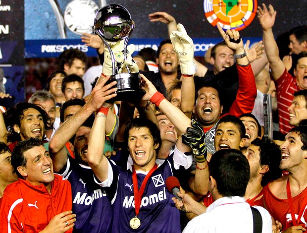jogadores independiente troféu copa sul-americana