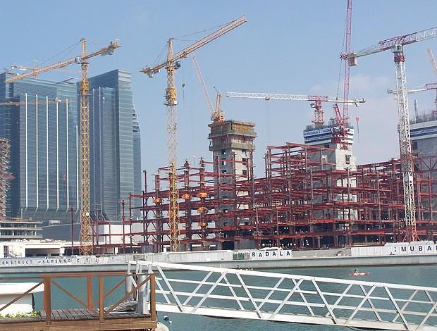 Abu Dhabi prédios