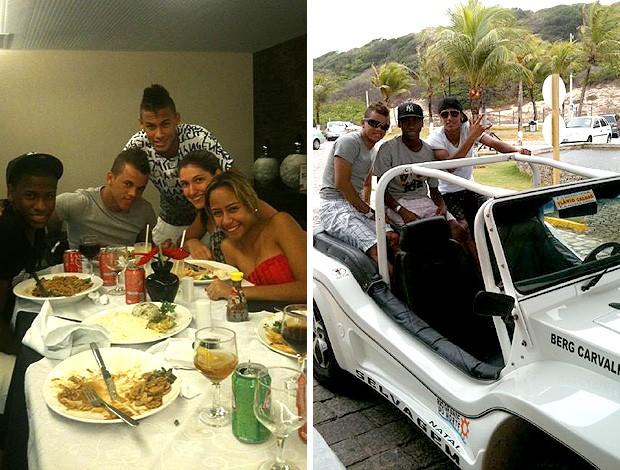 reprodução twitter Neymar santos férias natal