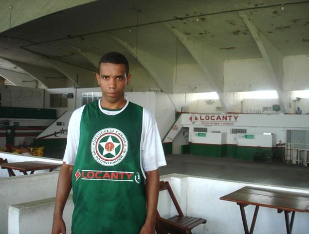 Alex Alves, atacante da Portuguesa