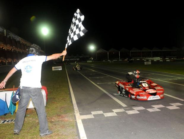 kart Desafio das Estrelas Di Grassi chegada