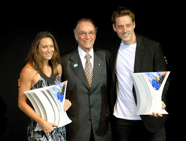 Fabiana Murer e Murilo levam os prêmios de atletas do ano