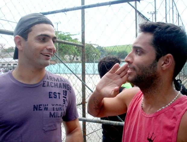 Ibson e Diego ex-jogadores do Flamengo