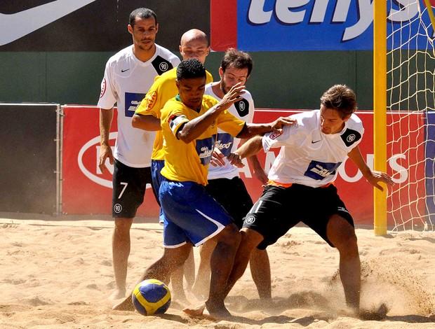 Desafio Internacional de futebol de areia