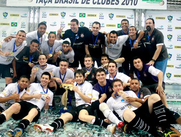 Corinthians campeão da Taça Brasil de Futsal