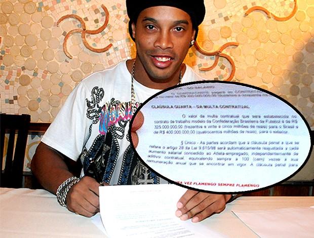 Ronaldinho Gaúcho contrato Flamengo