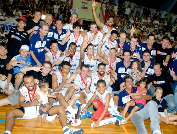 basquete limeira campeão paulista