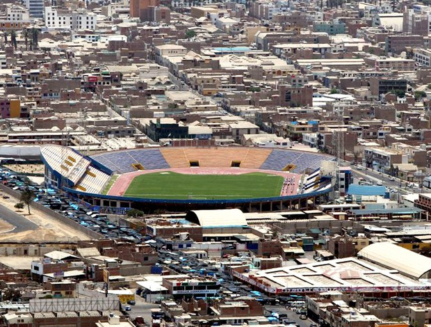 Estádio Jorge Basadre, em Tacna brasil sub 20