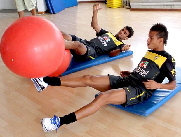 Neymar brasil sub-20 treino
