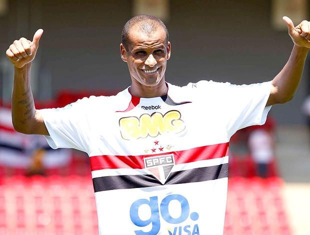 Rivaldo apresentado no São Paulo
