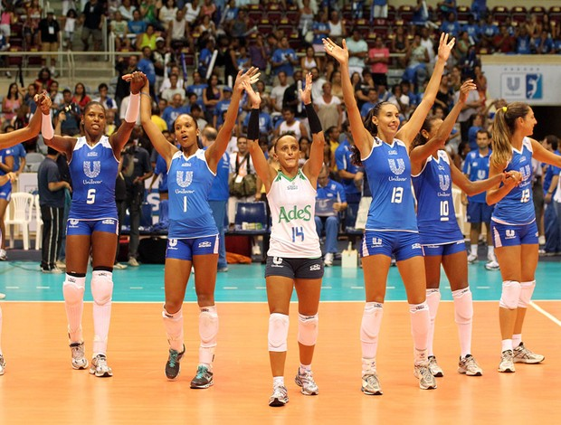 Osasco x Rio de Janeiro  comemoração vôlei