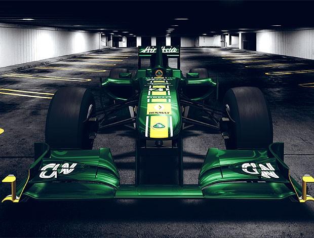 lançamento do nova carro da Lotus Renault