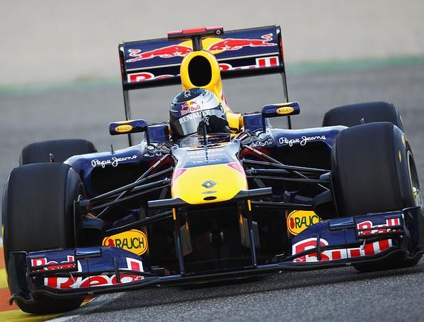 Vettel no teste da F1