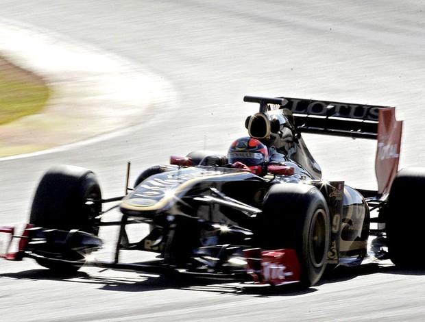 Kubica no teste da F1 (Foto: EFE)