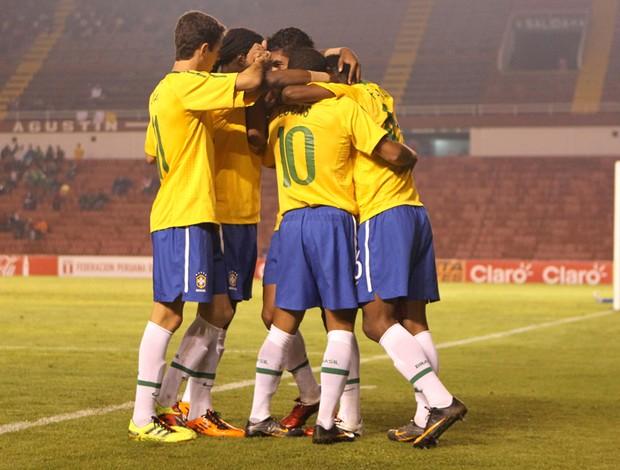 Brasil x Equador sub-20 (Foto: Mowa Press)