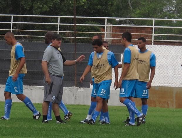 Marcelo Vilar, técnico do Treze-PB (Foto: Marcelo Prado / GLOBOESPORTE.COM)