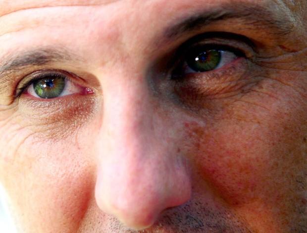 close nos olhos de Rogério Ceni (Foto: Marcos Ribolli / Globoesporte.com)