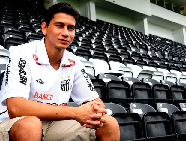 Paulo Henrique Ganso santos (Foto: Marcos Ribolli/Globoesporte.com)