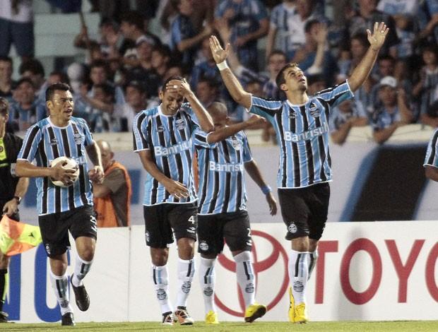 André Lima Grêmio comemoração (Foto: EFE)