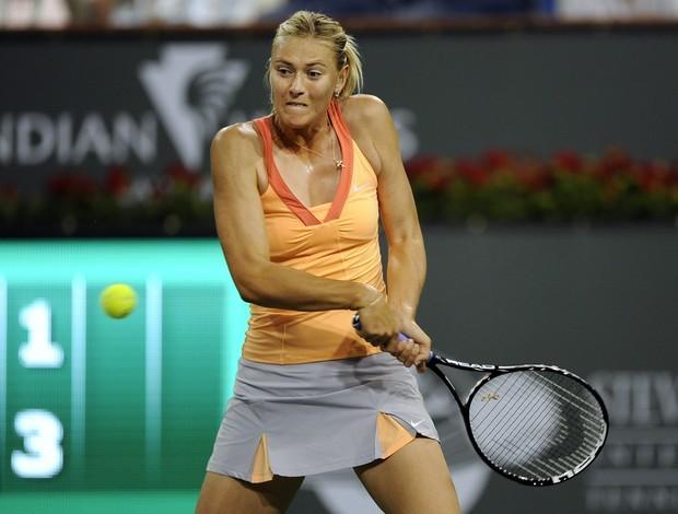 Maria Sharapova, em Indian Wells (Foto: EFE)