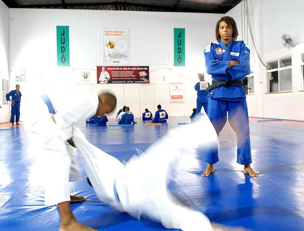 Rafaela Silva, judoca (Foto: Alexandre Durão / GLOBOESPORTE.COM)