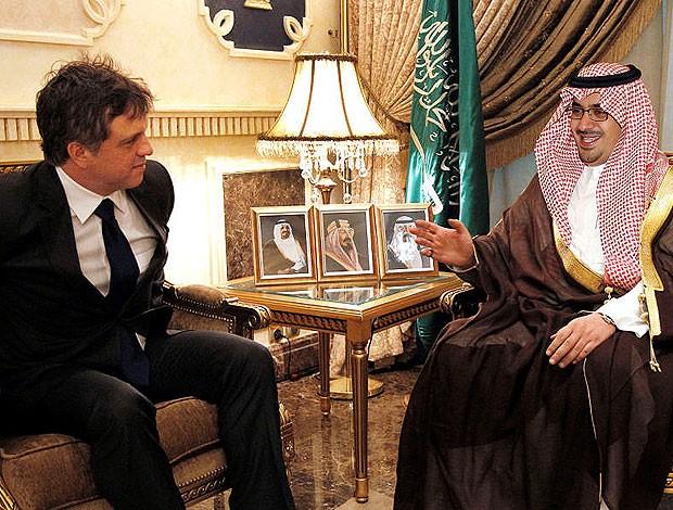 rogério lourenço Arábia Saudita (Foto: Divulgação)