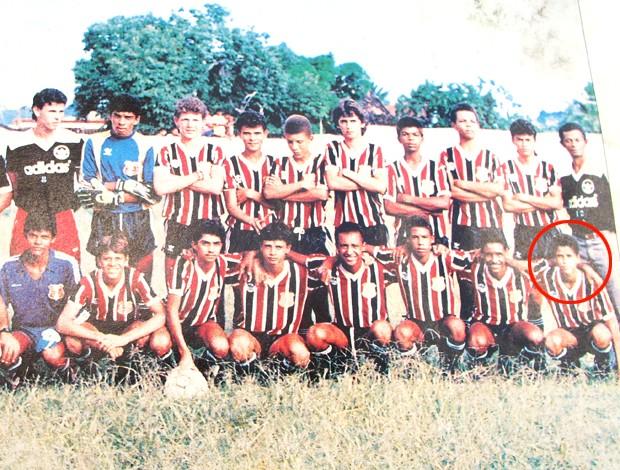 Rivaldo time Santa Cruz (Foto: Divulgação)
