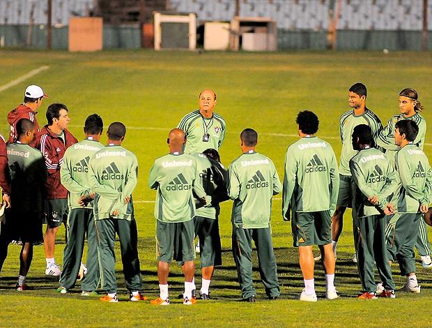 Fluminense treino Centenário (Foto: Getty Images)