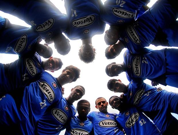 jogadores  Friburguense (Foto: Alexandre Durão / Globoesporte.com)