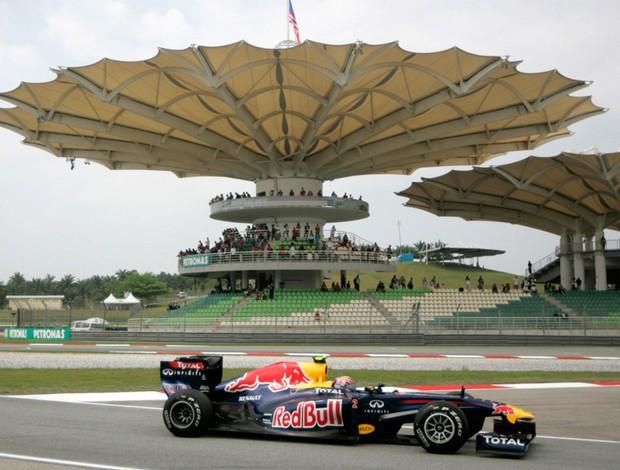 Mark Webber Fórmula 1 F1 GP da Malásia (Foto: Reuters)