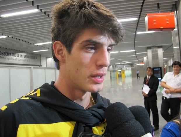 Lucas Piazon, atacante do São Paulo vendido para o Chelsea-ING (Foto: Edgard Maciel de Sá / GLOBOESPORTE.COM)