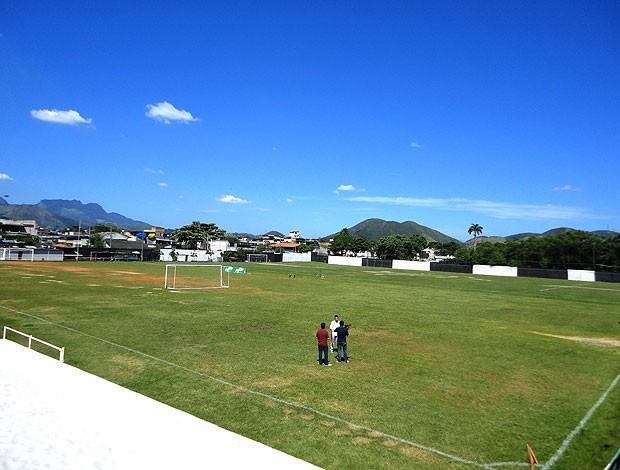 centro de treinamento do Botafogo em Marechal Hermes (Foto: Mariana Kneipp / GLOBOESPORTE.COM)