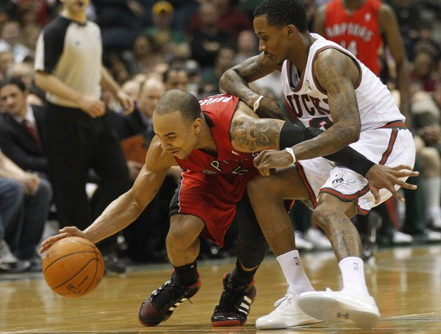 Toronto Raptors x Milwaukee Bucks (Foto: AP)