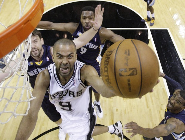 Tony Parker, do San Antonio Spurs (Foto: AP)