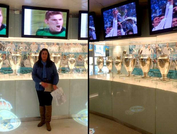 tour pelo estádio Santiago Bernabeu do Real Madrid (Foto: Thiago Dias / Globoesporte.com)