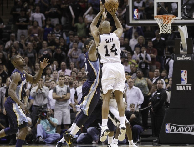 Gary Neal, do San Antonio Spurs (Foto: AP)