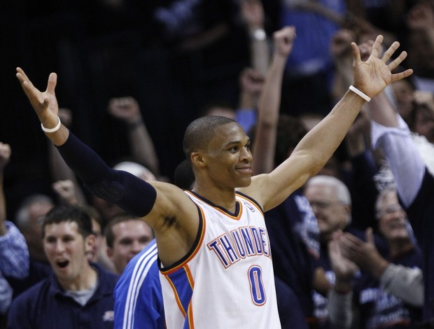 Russell Westbrook, do Oklahoma City Thunder (Foto: AP)