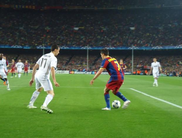 Barcelona x Real Madrid (Foto: Thiago Dias / Globoesporte.com)