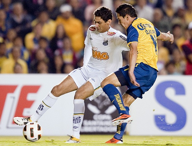Paulo Henrique Ganso Santos x América-MEX (Foto: AFP)