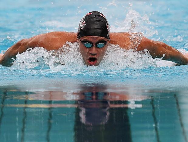 natação thiago pereira maria lenk parque aquático Julio de Lamare (Foto: Satiro Sodré / CBDA)
