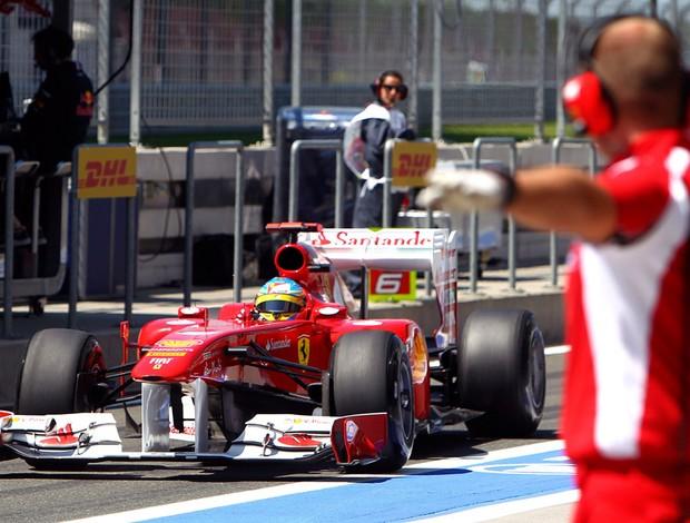 Fernando Alonso Fórmula 1 F1 GP da Turquia (Foto: EFE)