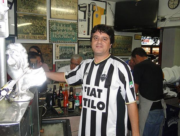 Salomão Jorge Filho, proprietário do Bar do Salomão (Foto: Marco Antônio Astoni / Globoesporte.com)