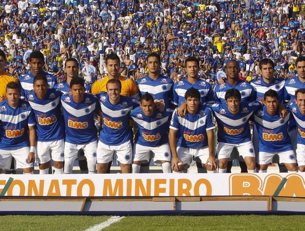 Cruzeiro, campeão mineiro de 2011 (Foto: Washington Alves / Vipcomm)